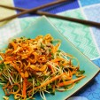 Salad rau mầm (green pea sprouts)